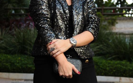 coisas que amamos moda look do dia casaco de paetês 3