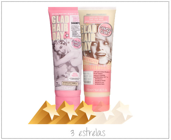 coisas que amamos opiniao shampoo e condicionador soap and glory