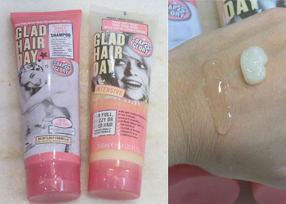 coisas que amamos shampoo e condicionador soap and glory glam hair day