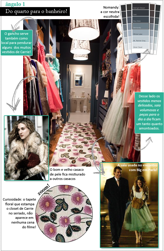 coisas que amamos por dentro do closet da carrie de sex and the city 1