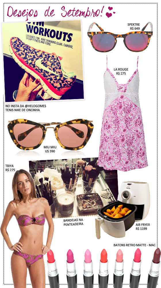 coisas que amamos desejos de consumo setembro