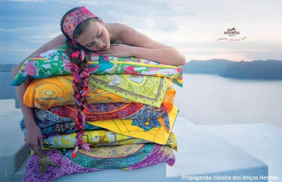 coisas que amamos lenço na praia cabeça hermes