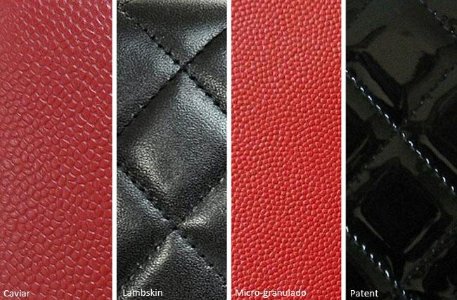 coisas que amamos detalhes da chanel tipos couro