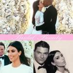 O make de Kim no casamento com Kayne!