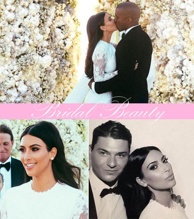 coisas que amamos beleza de noiva kim kardashian