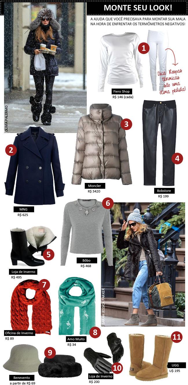 coisas que amamos como se vestir no frio inverno neve 1