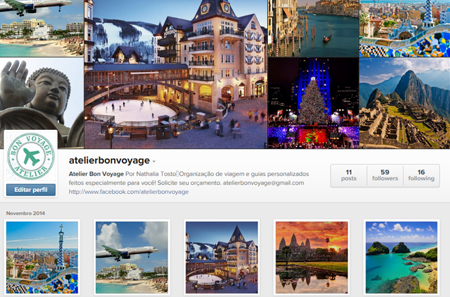 atelier bon voyage viagens personalizadas facebook contato