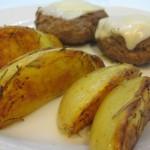 Receita: Batatas coradas