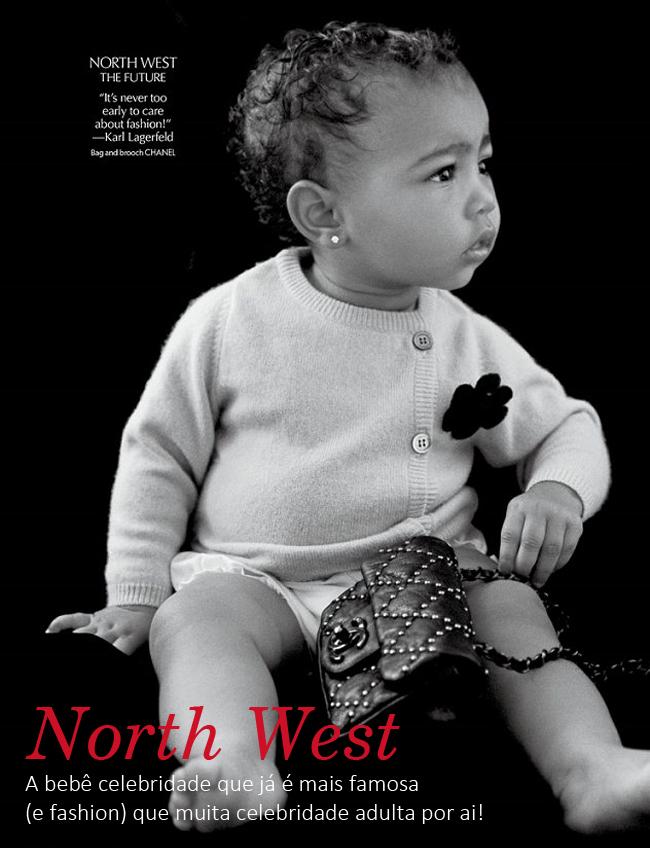 coisas que amamos north west a baby celebridade do momento 2