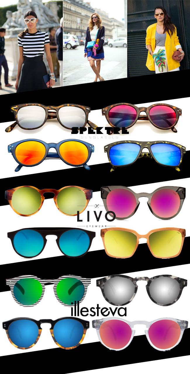 coisas que amamos oculos espelhados em alta