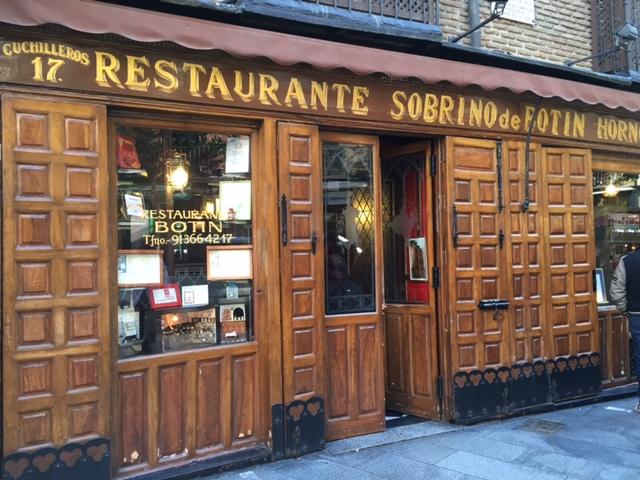 coisas que amamos madrid espanha restaurante mais antigo do mundo botin 6