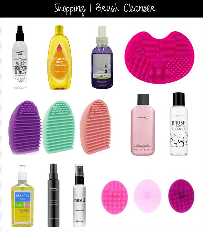 coisas que amamos produtos para limpar pinceis como limpar