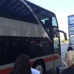 De ônibus pela Europa