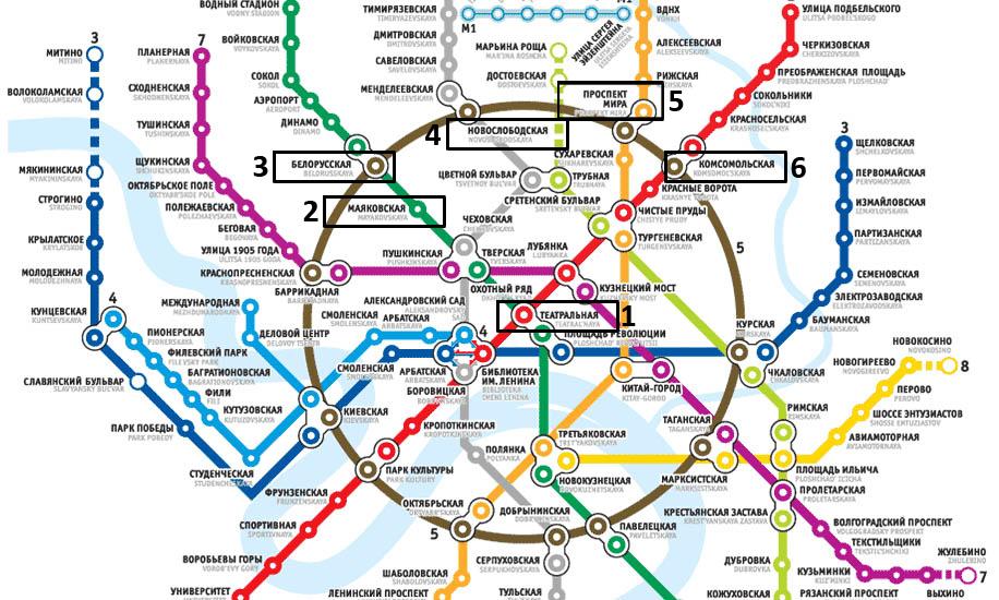 moscou russia mapa do metro coisas que amamos dicas viagem