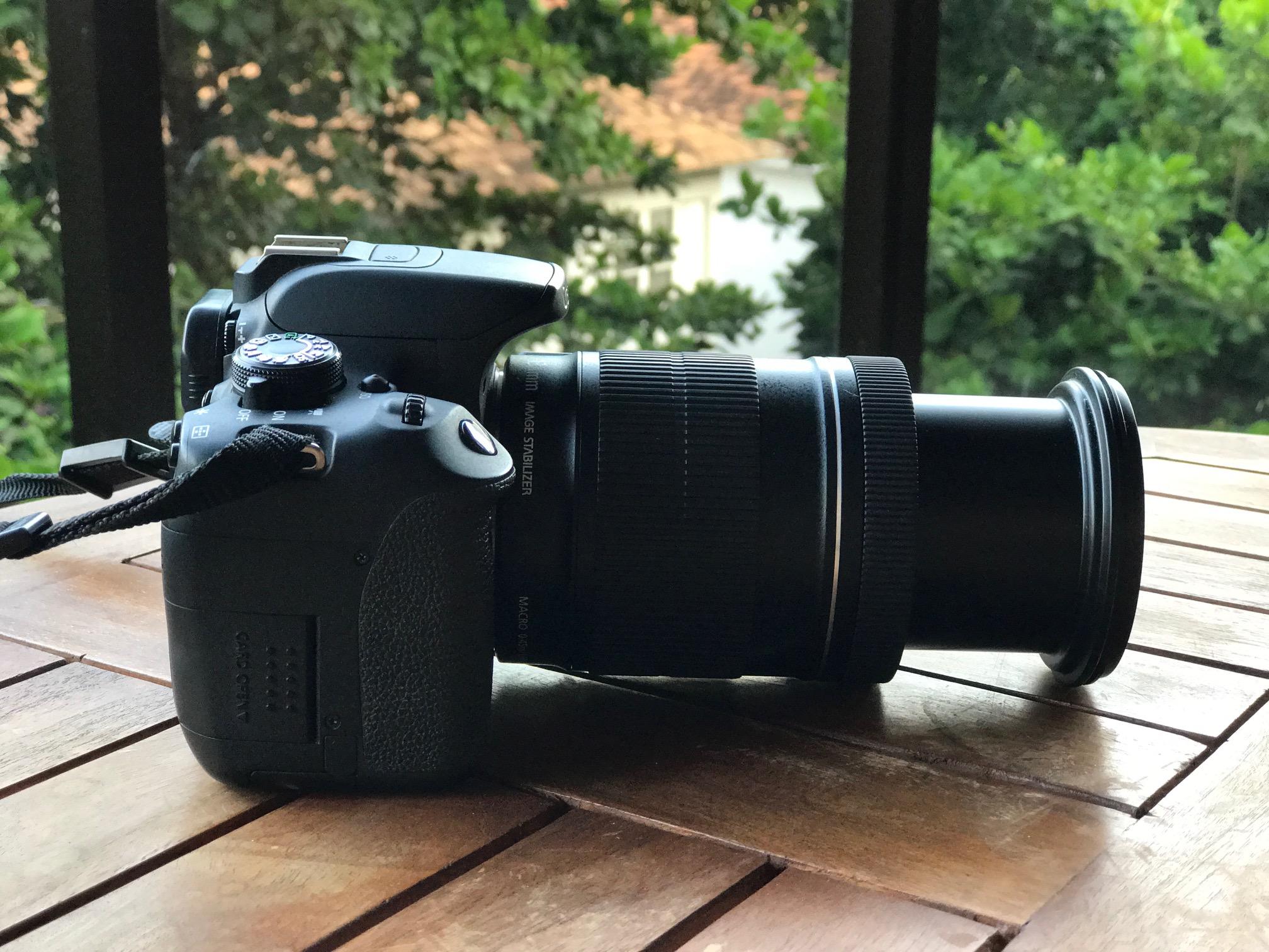 lentes para máquina DSLR viagem video dica