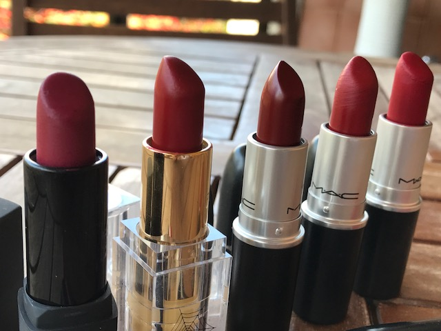 comparativo vic ceridono mac russian red cruella ruby woo